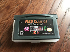 NES Classics 150 Games in 1 - GBA Gameboy Advance multicart game boy cart zelda