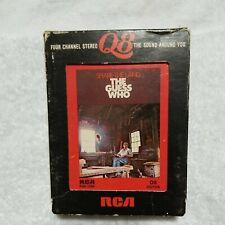 The Guess Who SHARE THE LAND Quadraphonic 8-Track Tape Q8  Quad Tape