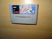 Videojuegos Street Fighter nintendo SNES PAL