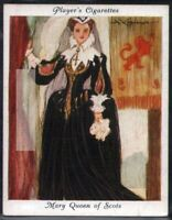 Mary Stuart Queen Of Scots England Catholic c80 Y/O Ad Trade Card