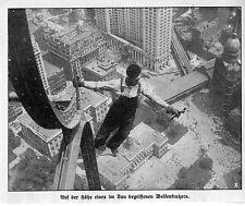 America U.S.A. Manhatten Skyscraper Wolkenkratzer Historical Memorabilia 2c.1912