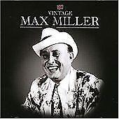 Max Miller CD  Classic British Comedian - New CD - Rare Stock - Gift Idea