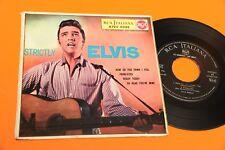 ELVIS PRESLEY EP STRICTLY ORIGINALE ITALIA 1957 4 CANZONI !!!!