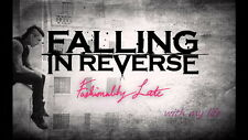 """050 Falling In Reverse - American Rock Band Music Stars 25""""x14"""" Poster"""