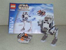 LEGO Star Wars Set 4486 MINI AT-ST & SNOWSPEEDER From 2003 Exclusive Mini Set