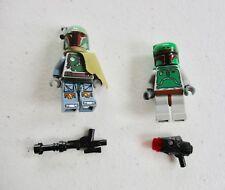 LEGO STAR WARS MINIFIGURES LOT OF 2 BOBA FETT BOUNTY HUNTER