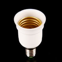 E14 to E27 Base LED CFL Light Bulb Lamp Adapter Converter Screw Socket &l YK