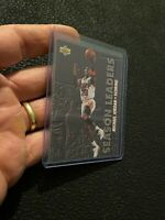 Michael Jordan 1993 Upper Deck #166 BASKETBALL ICONIC Chicago Bulls NR INVEST
