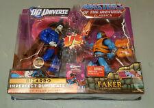 MOTU vs Dc Universe Classics Bizarro vs Battle Armor Faker TRU Exclusive