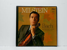 Capitol PCR 8370 MILSTEIN Bach Sonatas & Partitas SOLO VIOLIN Green Gold NM/EX