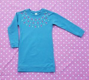 Gymboree girls turquoise dress size 7