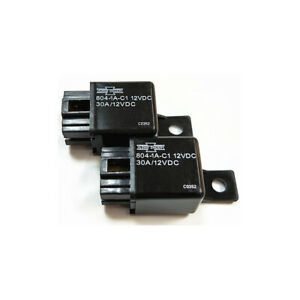 Songchuan 804-1A-C1 12VDC Automotive Car Power Relay 30A
