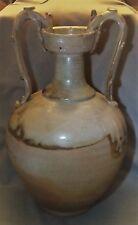 "Vintage Chinese 2 Dragon Vase 15"""