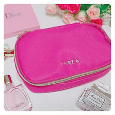 """ FURLA Cosmetic Bag "" Multi Case Pouch IC card case from japan new asian"