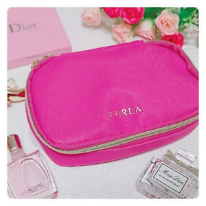 """"""" FURLA Cosmetic Bag """" Multi Case Pouch IC card case from japan new asian"""
