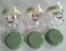 3 Baby Bullet Date Dial Storage Cups