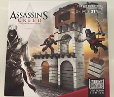 Assassin's Creed Mega Bloks Fortress Attack Set 94319 314 Pcs Ages 12+ Collector