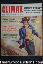 """Climax"" July 1960   Mickey Rooney, Wild Bill Hickok, Norm Saunders, Kunstler, L"