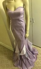 NWT WINDSOR $100 Lavender Formal Evening Prom Gown 13