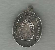Religious Christianity Medal Virgen De Lujan & Church