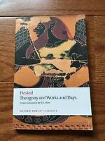 Theogony and Works and Days by Hesiod & M. L. West (Paperback)