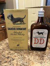 Collectible Dandie Dinmont Terrier Whiskey Bottle with box ( bottle is empty)