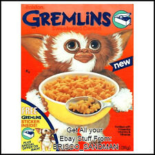 Fridge Fun Refrigerator Magnet GREMLINS BREAKFAST CEREAL 80s Retro
