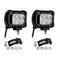 "2pcs 4"" INCH 36W LED WORK LIGHT BAR FLOOD OFFROAD ATV FOG TRUCK LAMP 4WD 12V 6"""