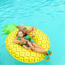 160cm Pineapple-shaped Inflatable Circle Swiming Ring Funny Pool Float For Adult