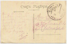 1915 GB Field Post Office A2A France PPC WW1 to Chelmsford