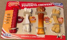 Nylabone Dog Chews For Powerful Chewers 4 Pack New