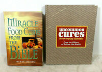 Miracle Food Cures from the Bible by Reese P. Dubin & Uncommon Cures For Health