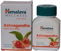 5X60 Tablets Himalaya Herbal Ashwagandha Tablet Pure Herbs For Natural Care