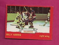 1973-74 OPC #  130 ISLANDERS BILLY HARRIS   ROOKIE EX-MT  CARD (INV# A5939)