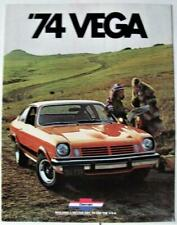CHEVROLET Vega 1974 Car Sales Brochure Sep 1973 USA #2677