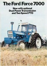 FORD 7000 TRACTOR SALES COVER BROCHURE/POSTER 80's ADVERTISEMENT ULTRA RARE A3