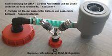 GG21_150*TANKVERBINDUNG GARANTIA FÜLLAUTOMAT MIT Y-VERTEILER UND KAPPE DK150R50