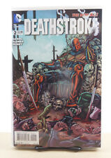 DEATHSTROKE #2 1:25 BART SEARS VARIANT COVER NM DC COMICS NEW 52 2014