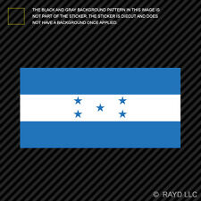 "4"" Honduran Flag Sticker Decal Self Adhesive Vinyl Honduras HND HN"