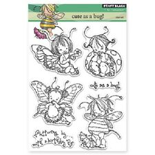 PENNY BLACK RUBBER STAMPS CLEAR CUTE AS A BUG STAMP SET 2014