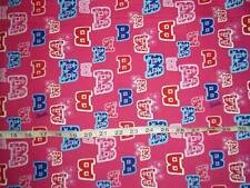 NEW 100% Cotton Barbie Logo Pink Quilting Fabric BTHY More Available