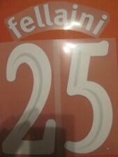 Fellaini 25 Everton Europa League Football Shirt Name Set Kids Youth