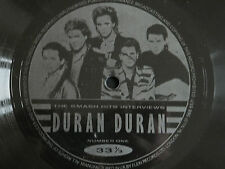 Duran Duran - The Smash Hits Interviews Number One Flexi Disc