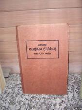 Deutsche Sprachlehre, Vorstufe, von Otto Mensing