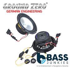 "Ground Zero GZCS 165VW 6.5"" Inch 190 Watts 2-Way 3-Ohm Component Car Speakers"