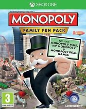 Monopoly Family Fun Pack Microsoft Xbox One Game Signed for Postage