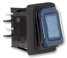 Interruptor Dpst IP65 Azul INTERRUPTORES ROCKER Rocker-JD86060