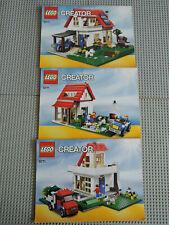 LEGO Bauanleitung / Instruction Creator 5771  3  Hefte