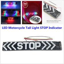 LED Motorcycle Scooter Tail Light STOP Indicator Lamp Brake Flash Driving DC 12V