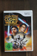 Nintendo Wii Wii U Spiel Star Wars The Clone Wars Repuclic Heroes